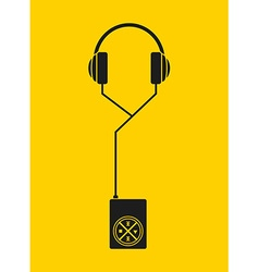 mp3 music player vector image