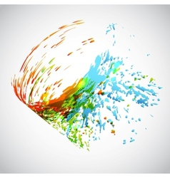 Splash background vector