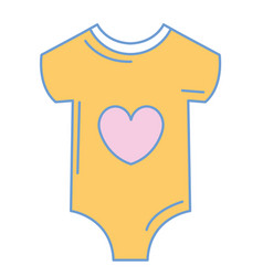 Beautiful clothes babys vector