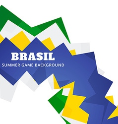 Brazil soocer game vector