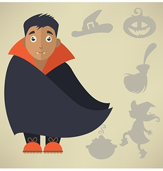 cute Halloween vector image vector image