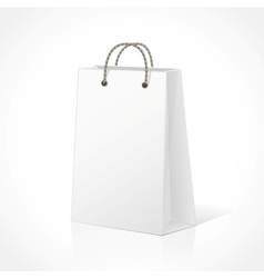Empty Shopping Bag vector image