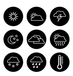 Weather concept design vector