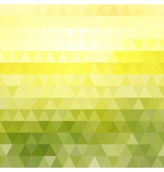 Abstract geometric triangle summer background vector image