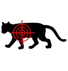 Cougar crosslines vector