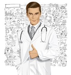 Physician vector