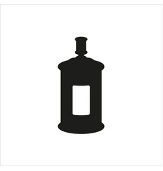 spray icon on white background vector image vector image