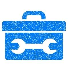 Toolbox grainy texture icon vector