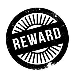Reward stamp rubber grunge vector