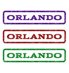 Orlando watermark stamp vector