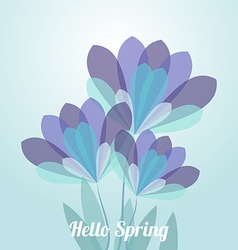 Abstract flower spring background eps 10 vector