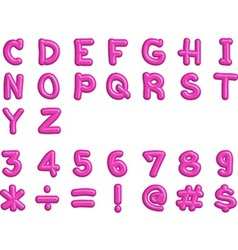 Alphabet1 vector image vector image