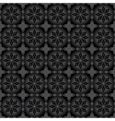 black pattern for background vector image vector image