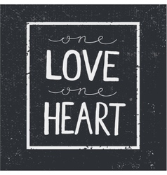 love quote lettering on blackboard vector image vector image