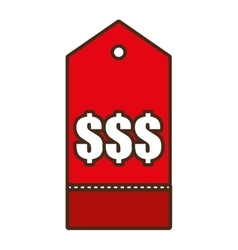 Price tag shop symbol icon design vector