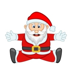 Santa Claus For Your Design vector image