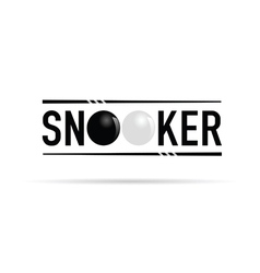 Snooker icon vector