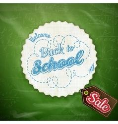 School sale design eps 10 vector