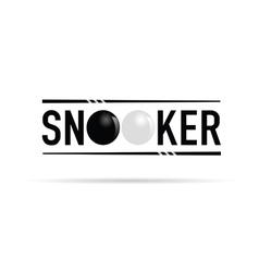 Snooker icon vector