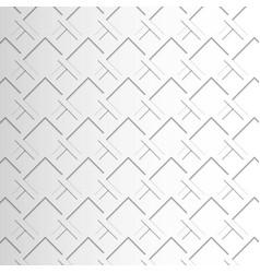 White geometric texture background vector