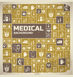 Medical help design background vector