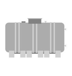Barrel capacity tanks vector image