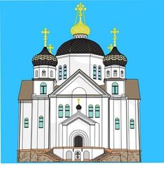 Church in smorgon vector