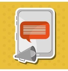 Communication icon desgin vector