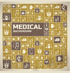 Medical help design background vector