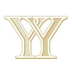 Monogram yy vector