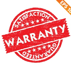 Stamp sticker warranty collection - - eps10 vector