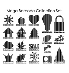 Barcode Set Image vector image