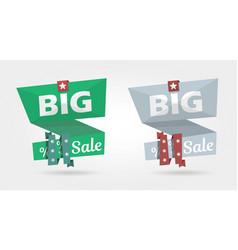big sale banner special offer advertising banner vector image