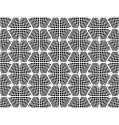 Design seamless checked hexagon pattern vector