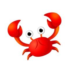 Icon crab vector