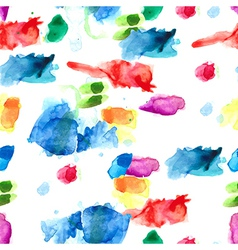 Spray paint watercolor seamless pattern vector image vector image