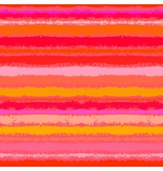 Striped pattern in tropical coral red vector