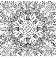 mandala ethnic background vector image