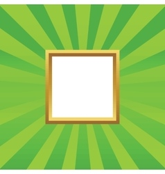 Empty picture icon vector