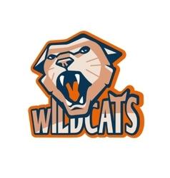 Cat mascot vector