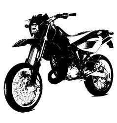 Aprilla bike vector image