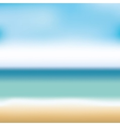 beach landscape background icon vector image