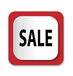icon with the word SALE vector image vector image