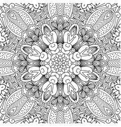 Mandala ethnic background vector