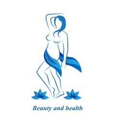 Health beauty and femininity vector