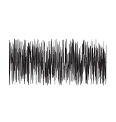 sound wave on white background sound wave sign vector image
