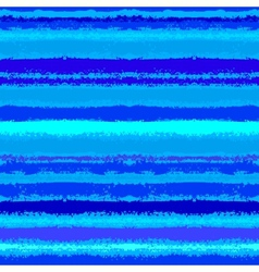Striped pattern inspired by sea waves in blue vector