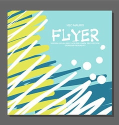Abstract flyer with space for text it can be used vector
