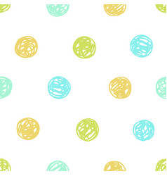 Polka dot seamless pattern vector