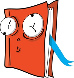 Silly book vector